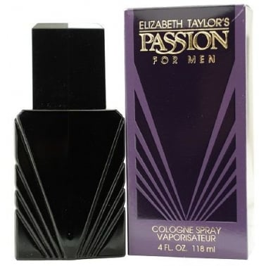 Elizabeth Taylor Passion for Men - 118ml Eau De Cologne Spray.
