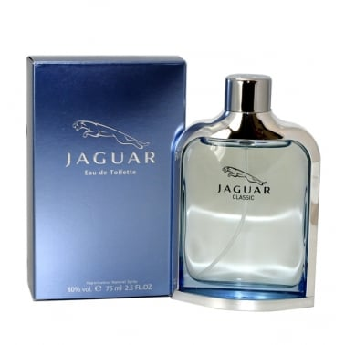 Jaguar Classic Blue 100ml Eau De Toilette Spray.