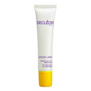 Decleor Aroma Lisse 2-In-1 Dark Circle & Eye Wrinkle Eraser with Mandarinel 15ml