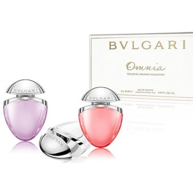 Bulgari The Jewel Charms Collection - Omnia Crystalline 15ml, Omnia Coral 15ml,