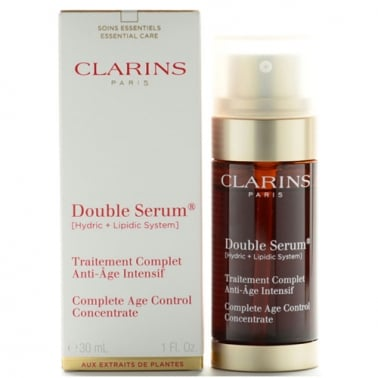 Clarins Double Serum 30ml - Complete Age Control Concetrate.