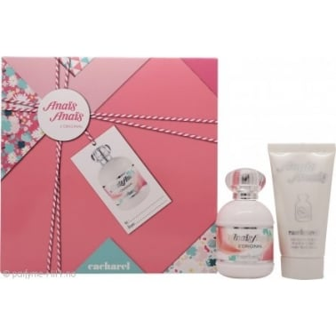 Cacharel Anais Anais - 50ml Gift Set With 50ml Perfumed Body Lotion.