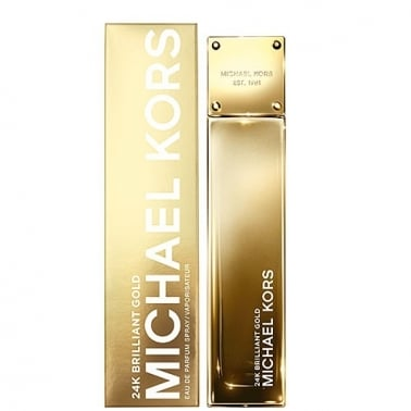 Michael Kors 24K Brilliant Gold - 100ml Eau De Parfum Spray.