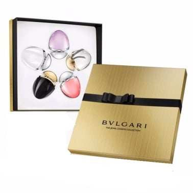 Bvlgari The Jewel Charm Collection Set With 5 x 25ml Omnia Amethyste, Mon Jasmin