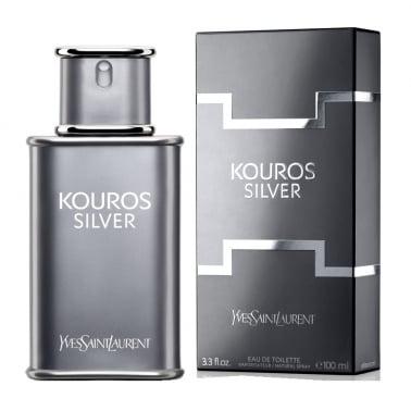 Yves Saint Laurent Kouros Silver - 100ml Eau De Toilette Spray.