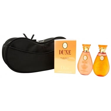 Christian Dior Dune - 50ml EDT Gift Set With Shower gel, Body Lotion