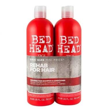 Tigi Bedhead Resurrection Tween Duo Shampoo and Conditioner 2 x 750ml.