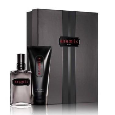 Aramis Black For Men - 60ml EDT Gift Set With 100ml Body Wash.