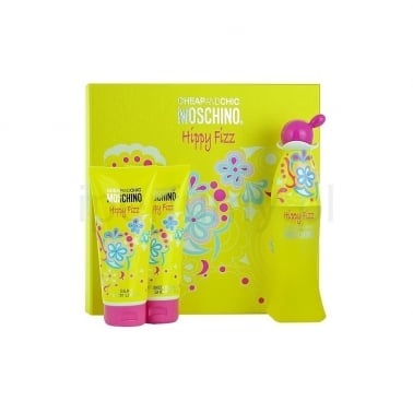 Moschino  Cheap and Chic Hippy Fizz - 50ml EDT Gift Set DAMAGED BOX.