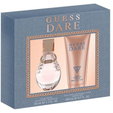 Guess Dare - 50ml EDT Gift Set With 200ml Body Lotion.