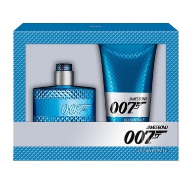 James Bond 007 Fragrances - 50ml EDT Gift Set With 150ml Refreshing Shower gel.
