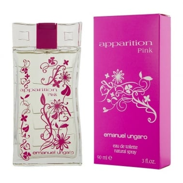 Emanuel Ungaro Apparition Pink - 90ml Eau De Toilette Spray.