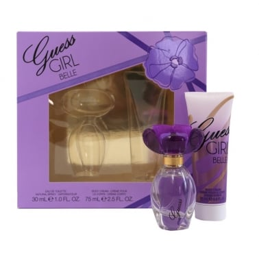 Guess Girl Belle - 30ml EDT Gift Set With 75ml Body Cream