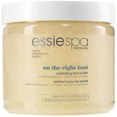 Essie Spa Pedicure On The Right Foot Exfoliating Foot Polish Step 2 495g.
