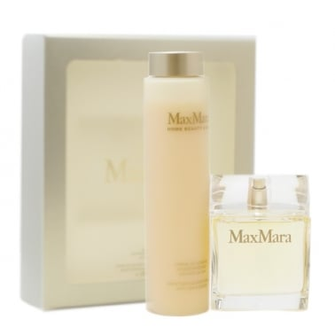 Max Mara Pour Femme - 40ml EDP Gift Set With 50ml Body Lotion.