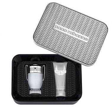 Paco Rabanne Invictus 100ml Gift Set With 100ml All Over Shampoo