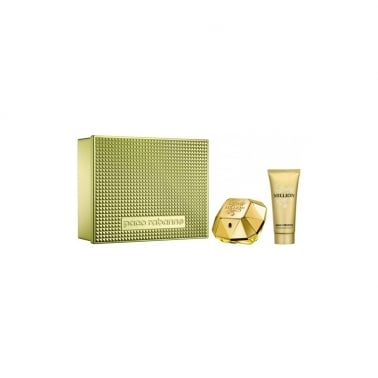 Paco Rabanne Lady Million - 50ml EDP Gift Set With 100ml Sensual Body Lotion.