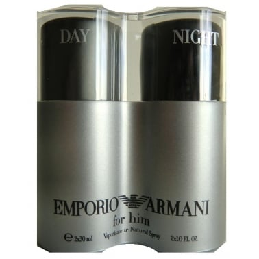 Emporio Armani Duo Collection - 2 x 30ml Armani He and Armani Night
