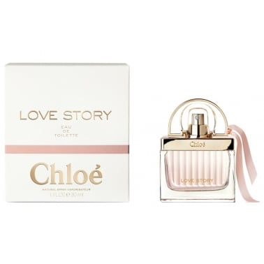 Chloe Love Story - 50ml Eau De Toilette Spray.
