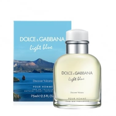 Dolce & Gabbana Light Blue Discover Vulcano Homme - 75ml Eau De Toilette Spray.