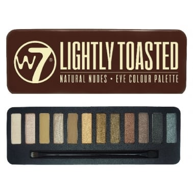 W7 Cosmetics In The Buff Lightly Toasted Eye Shadow Set.