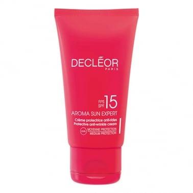 Decleor 50ml Aroma Sun Expert Protective Anti-Wrinkle Cream SPF15
