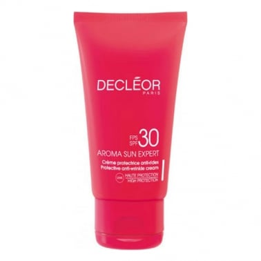 Decleor 50ml Aroma Sun Expert Protective Anti-Wrinkle Cream SPF30