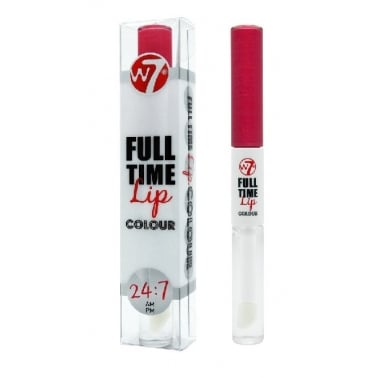 W7 Cosmetics Full Time Stay On Lip Colour - Passionate.