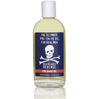 The Bluebeards Revenge Pre-Shave Oil 125ml For Sensitive Skin.