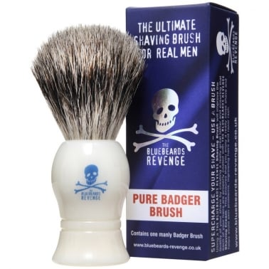 The Bluebeards Revenge Pure Badger Shaving Brush.