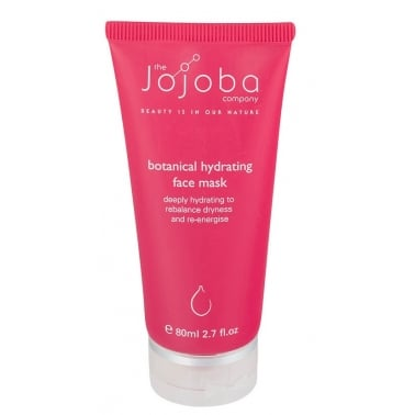 The Jojoba Company 100% Natural Botanical Hydrating Face Mask 80ml.
