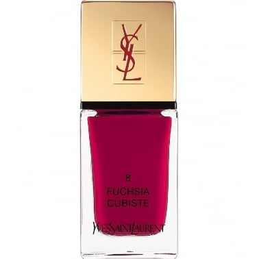 Yves Saint Laurent La Laque Couture Nail Lacquer 10ml - No8 Fuchsia Cubiste
