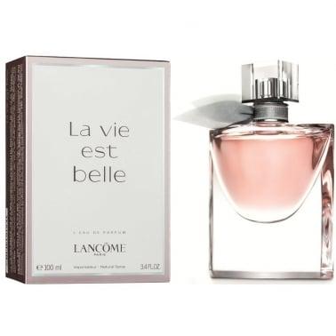 Lancome La Vie est belle - 100ml Eau De Parfum Spray.