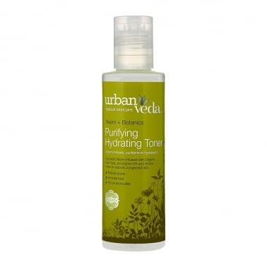 Urban Veda Natural Skincare Neem + Botanics - 150ml Purifying Hydrating Toner.