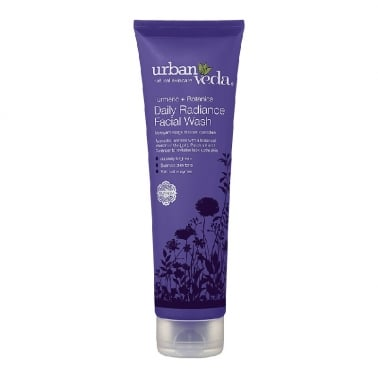 Urban Veda Natural Skincare Tumeric + Botanics - 150ml Daily Radiance Facial Was