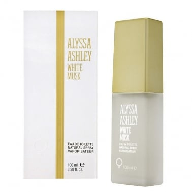 Alyssa Ashley White Musk - 100ml Eau De Toilette Spray With 2 Perfume Oil's