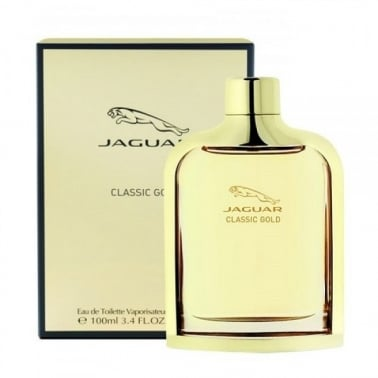 Jaguar Classic Gold - 100ml Eau De Toilette Spray.