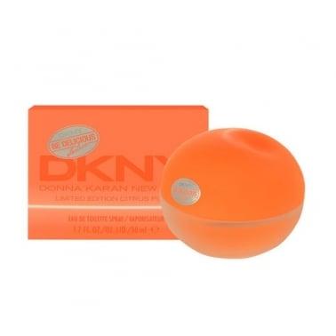 DKNY Be Delicious Be Electric Citrus Pulse - 50ml Eau De Toilette Spray.