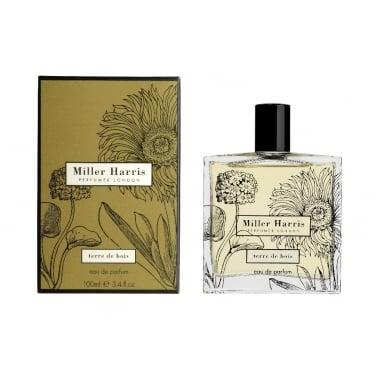 Miller Harris Terre De Bois Unisex - 100ml Eau De Parfum Spray.