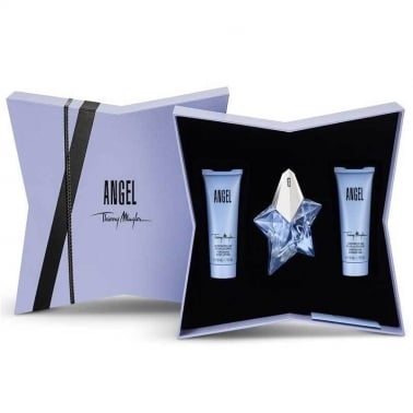 Thierry Mugler Angel - 25ml EDP Gift Set With Body Lotion and Shower Gel.