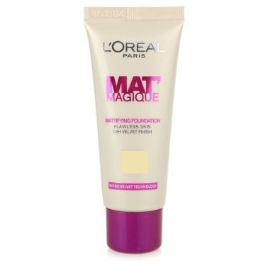 Loreal Mat Magique Mattifying Foundation - 02 Rose Ivory.
