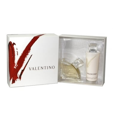 Valentino V Pour Femme - 50ml EDP Gift Set With 75ml Exquisite Body Lotion.