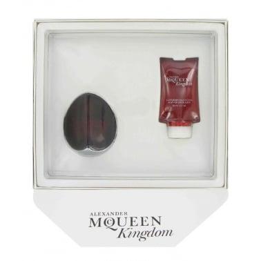 Alexander McQueen Kingdom - 75ml Eau De Toilette Spray With 50ml Body Lotion.