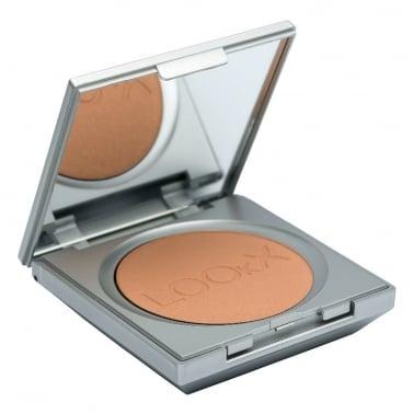 LOOkX Compact Face Powder - Deep Beige.