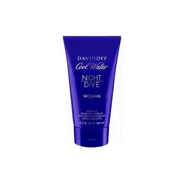 Davidoff Cool Water Night Dive For Women - 150ml Shower Gel.