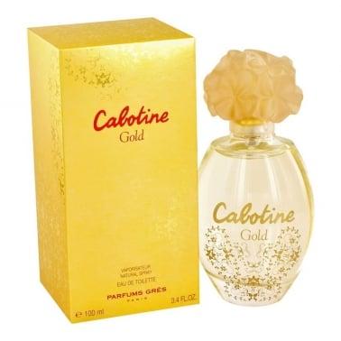 Gres Cabotine Gold - 100ml Eau De Toilette Spray.