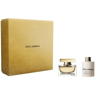 Dolce and Gabbana The One For Women - 50ml EDP Gift Set With 100ml Body Lotion.
