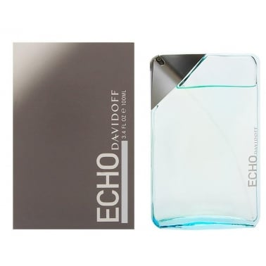 Davidoff Echo - 100ml Aftershave Splash, Damaged Box.