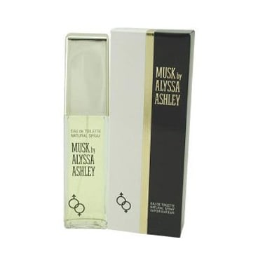 Alyssa Ashley Musk - 50ml Eau De Toilette Spray + 5ml Musk Oil, 5ml White Musk