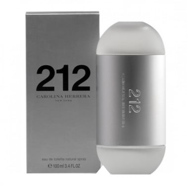 Carolina Herrera 212 For Women - 100ml Eau De Toilette Spray
